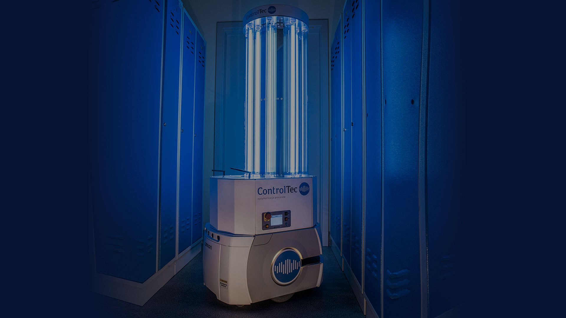 autonomous indoor disinfection robot